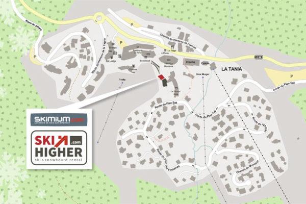 ski-hire-courchevel-location-map
